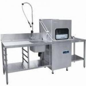 Машина посудомоечная Мпк-700к; стол Спмп-6-3;