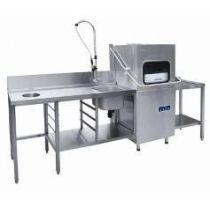 Машина посудомоечная Мпк-1100к, стол Спмп-6-7, стол Спмр-6-1 (Чтт)