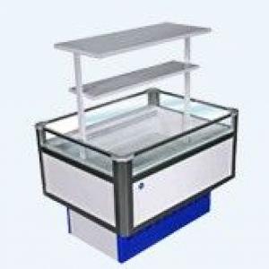 Витрина холодильная низкотемпературная островная Вхн-0,30 Купец (1,8о) (боковины Абс)