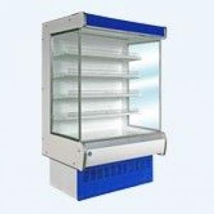 Витрина холодильная среднетемпературная  пристенная Ряд витрин Купец П (7,5п)
