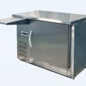 Прилавок холодильный среднетемпературныйпхс-1-0,300-1/охлаждаемый стол (нерж)