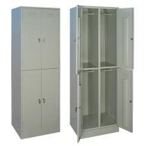 Шкаф металлический для одежды Шрм — 24